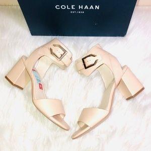 Cole Haan Nude Heeled Sandals 6.5M
